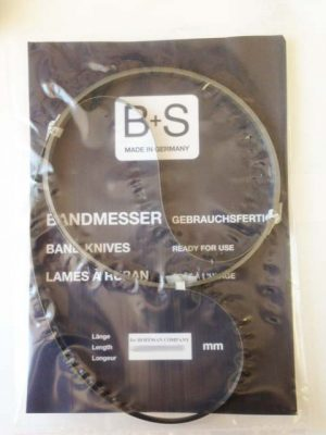 BS Лезвие ленточное 3780x10x0,45 мм