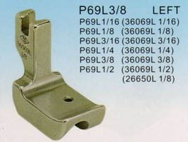 REACH/SUSEI Лапка под кедер P69L 3/8' (36069L)