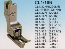 REACH/SUSEI Лапка для отстрочек CL 1/16' (=CL15) 2ND